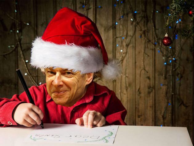 Arsene Wenger's Santa Wish List Letter