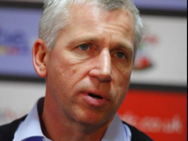 Pardew: Conditions were really tough