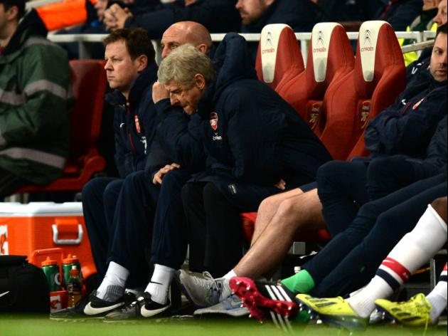 Arsenals title hopes fading says Wenger