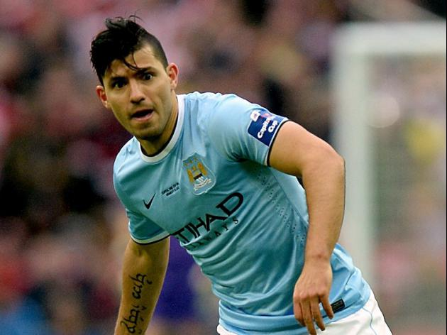 Aguero to miss Manchester derby