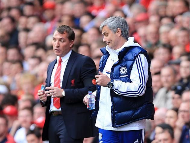 Mourinho congratulated by Rodgers