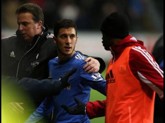 Swansea Manager Michael Laudrup refuses to blame Hazard