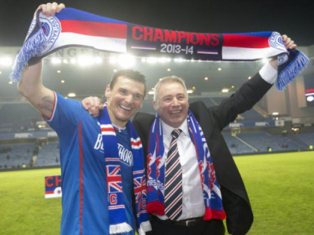 McCulloch fires Rangers back into top flight