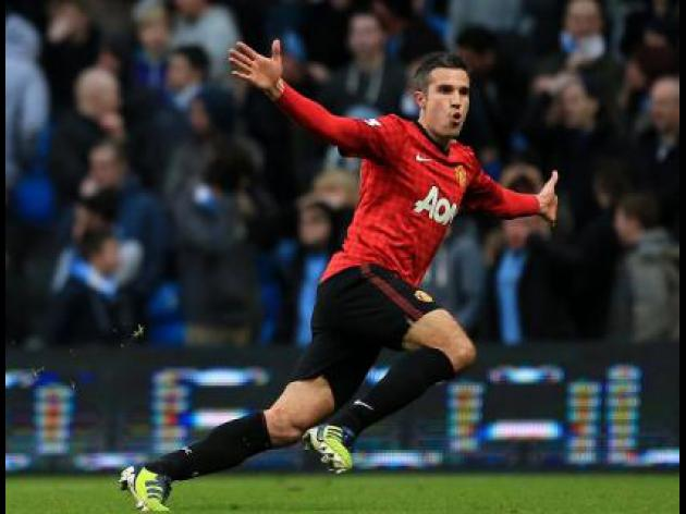Is Robin van Persie Manchester United's 'Lionel Messi'?