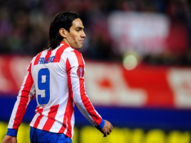 Manchester City agree record 54million fee for Atletico Madrid striker Falcao