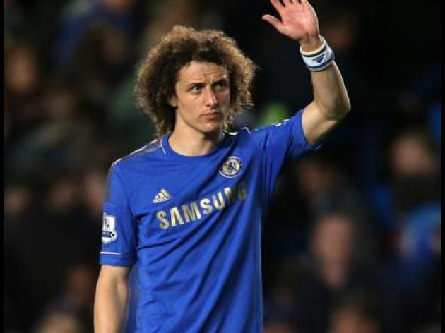 Chelsea's David Luiz 'hungry for more titles'