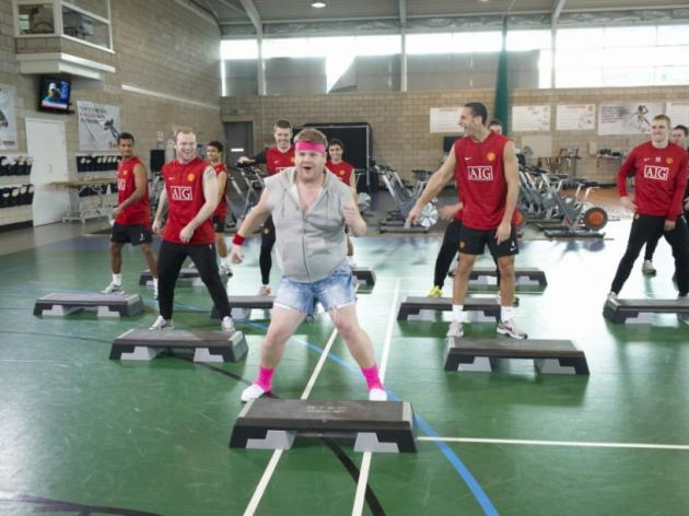 VIDEO: Comic Corden gives Rooney, Murray and Button a Sports Relief workout