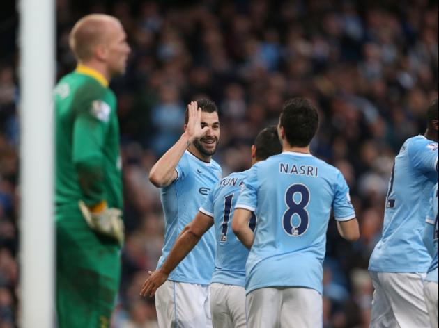 Man City V Fulham at Etihad Stadium : LIVE