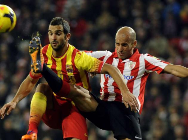 Martino rues missed chances as Barca lose in Bilbao