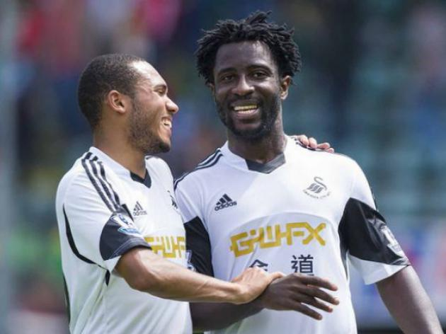 Swansea believe in Wilfried Bony