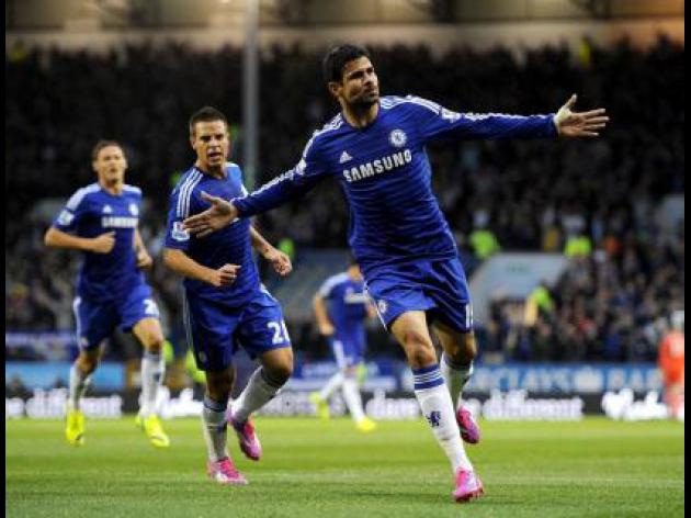 Classy Costa lifts Chelsea