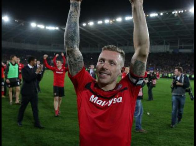 Cardiff forward Craig Bellamy proud as Bluebirds soar