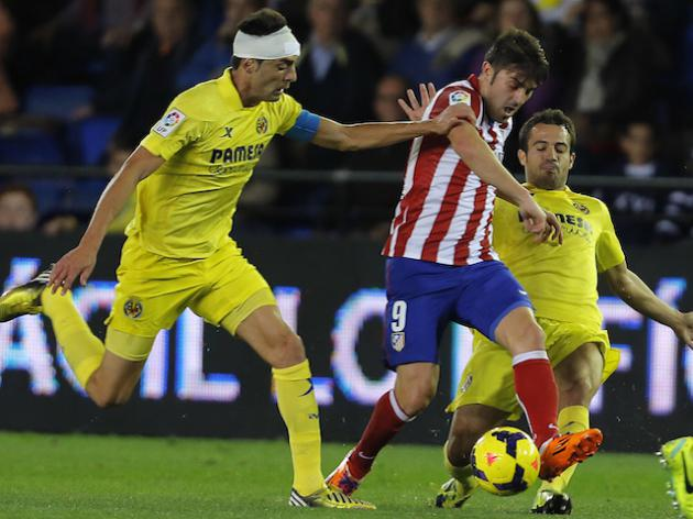 Under par Atletico Madrid held at Villarreal