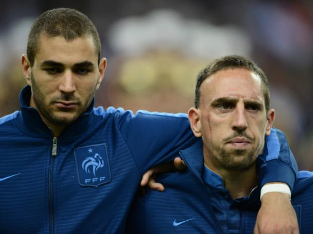Court drops charges in Ribery, Benzema sex case