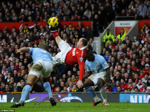 Wayne Rooney goal of a lifetime picture special