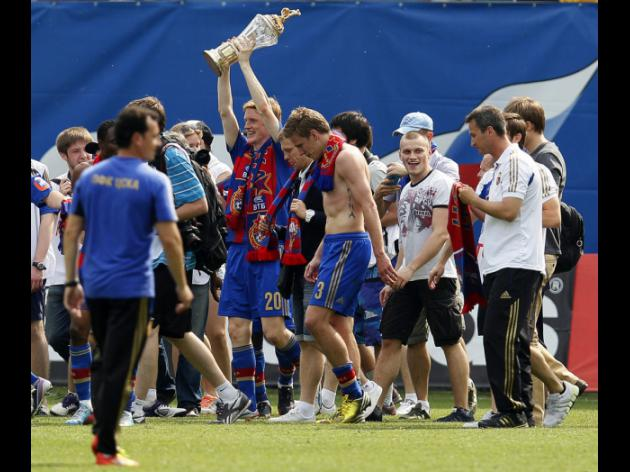 Champions CSKA look ahead to Cup final after defeat