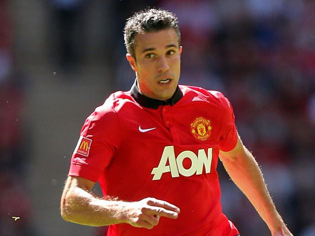 Manchester United's Van Persie out of Liverpool tie