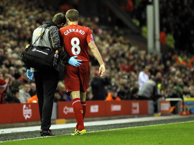 Gerrard concern for Reds