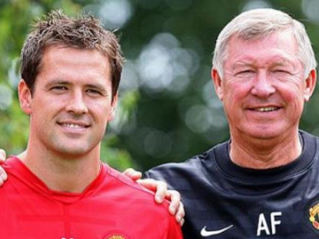 Michael Owen given No 7 shirt as Sir Alex Ferguson says no more signings