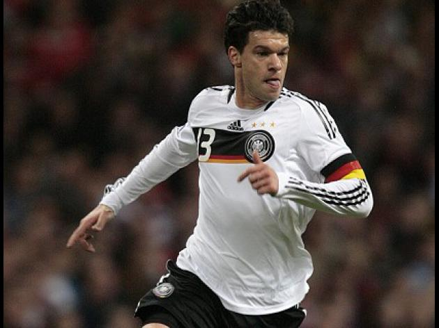 Former Chelsea midfielder Ballack bows out