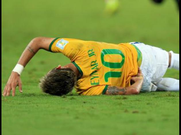 Neymar had paralysis fear - Scolari