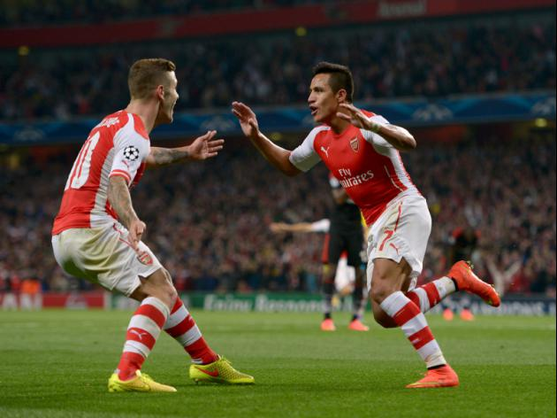 Arsenal stumble into the Champions League