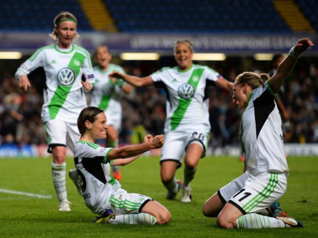 Wolfsburg ladies stun holders Lyon