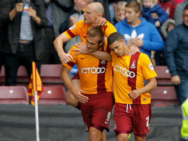 Bradford 4-0 Brentford: Match Report
