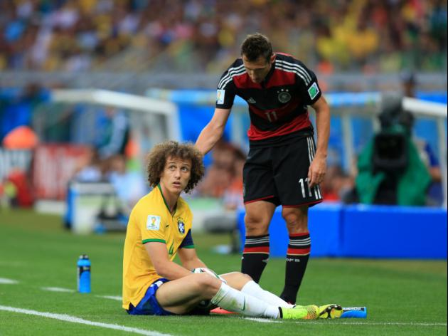 Jose Mourinho says it is unfair to single out David Luiz against Germany