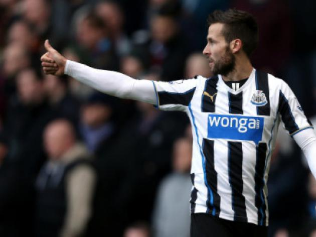 Newcastles Yohan Cabaye set to have PSG medical