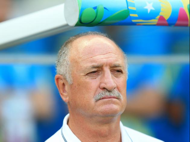 Scolari puts his name on the line
