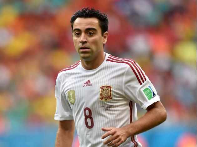 Xavi retires from Spain duty