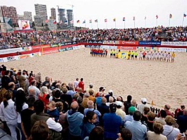 Want to get involved with beach soccer??