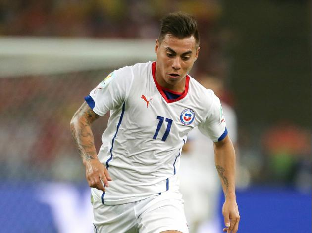 Vargas' agent 'in London for talks'