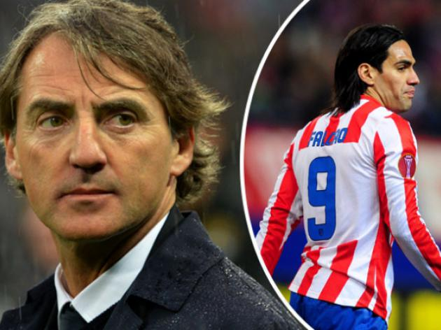 Mancini and Falcao set for Monaco moves?
