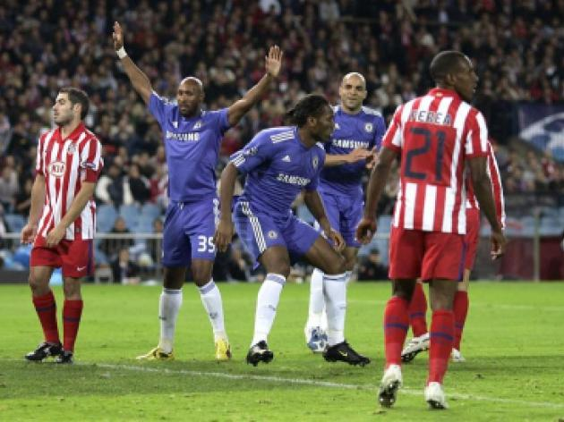 Atletico Madrid 2-2 Chelsea - Match Report