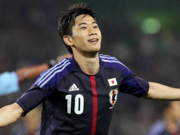 Japan boost for Manchester Uniteds Kagawa
