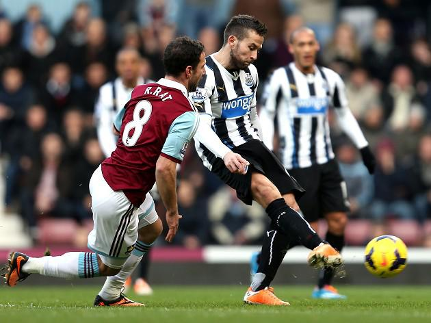 Cabaye double downs Hammers