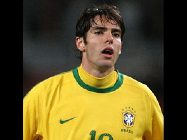 Gilberto backs Kaka to shine