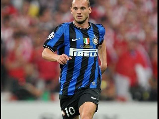 Moratti rules out Sneijder sale
