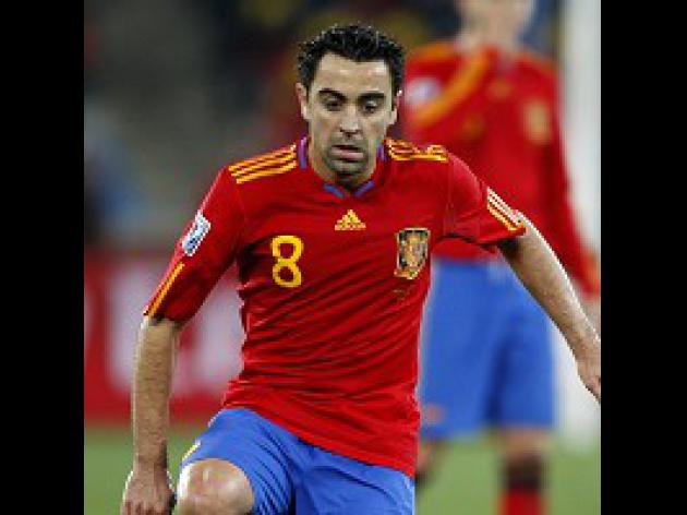Xavi will savour World Cup final
