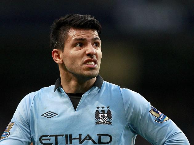 Aguero salvages point for City