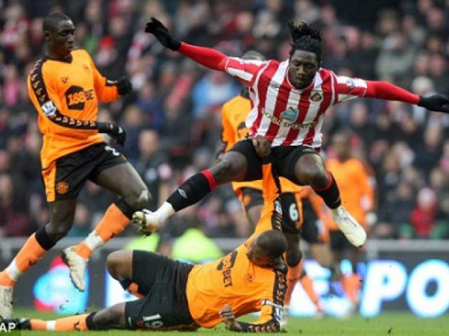 Keeping up with the Jones: Sunderland striker Kenwyne eyes Liverpool move
