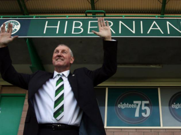 Butcher confirmed as new Hibernian manager