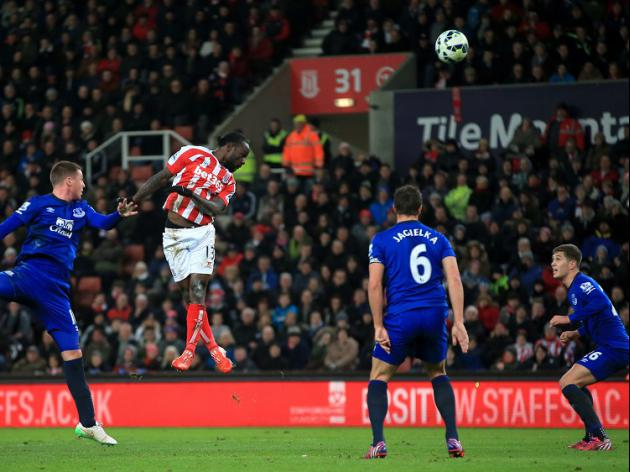 Toffees come unstuck against Stoke