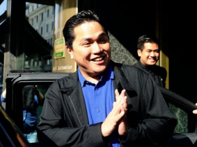New Inter owner Thohir elected club president