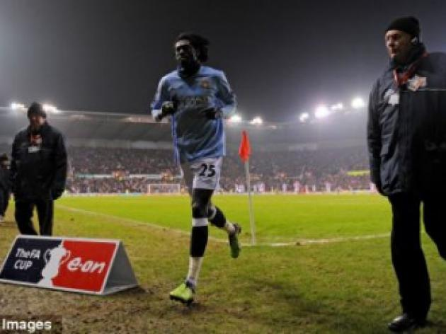 Adebayor adds to Man City woes as striker lands four-match suspension