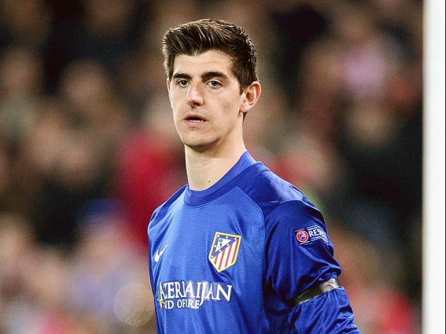 Courtois happy to be facing Blues