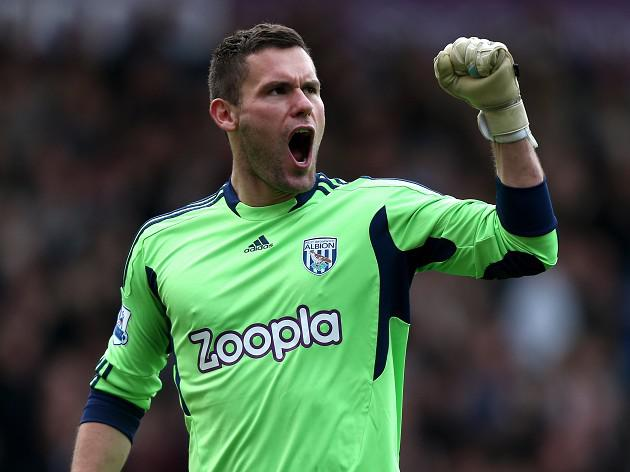 West Brom 'keeper Ben Foster ready for return