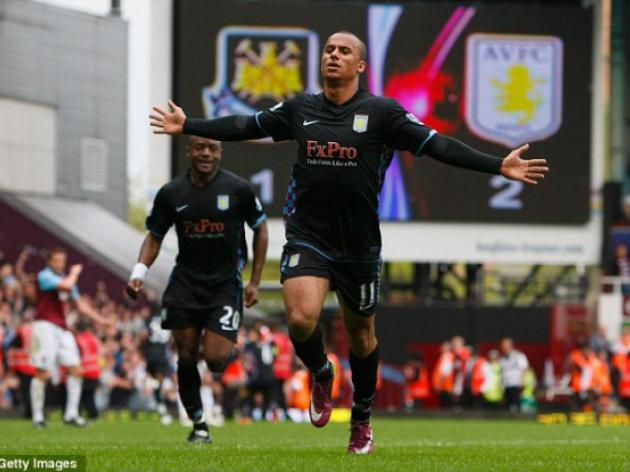 West Ham 1 Aston Villa 2: Gabriel Agbonlahor seals vital win